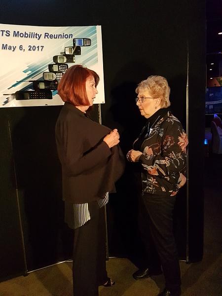 Linda S & Carole L by MTS Mobility Reunion Pics