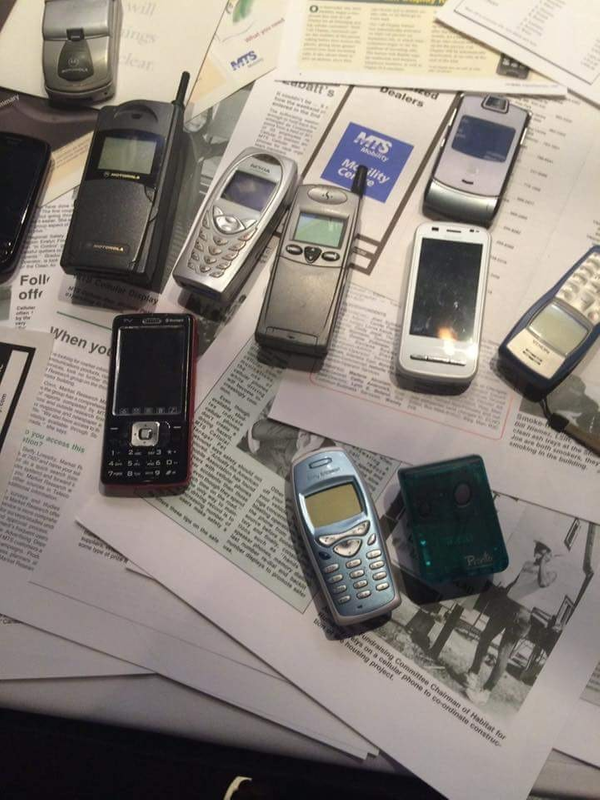 Phones of Days Gone By