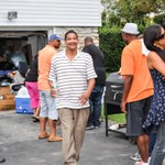 Church Cookout event 2015