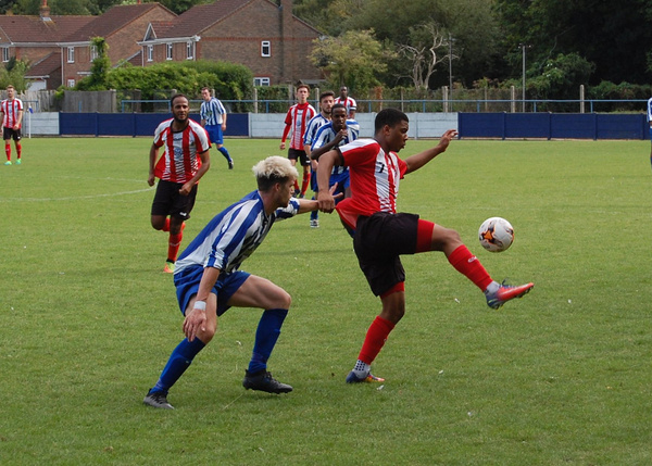Chertsey Town v Guildford City | Sat 12 Aug 2017 by Guildford City