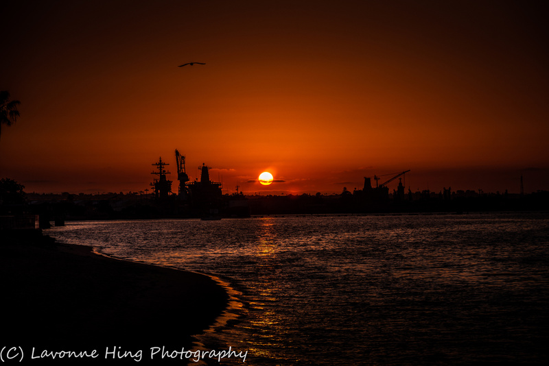 Coronado Naval Base Sunset-