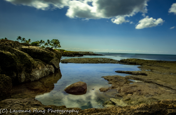 Hawaii Quiet Spot- by LavonneHing