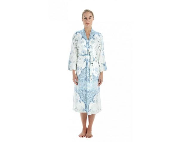 Blue marrakesh kimono by HeiressSchaefer
