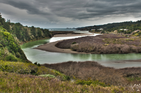 Gualala River by MeetupPhoto