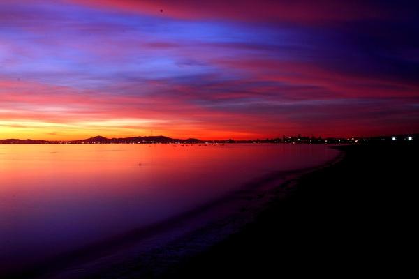 Alameda Beach Sunset by MeetupPhoto