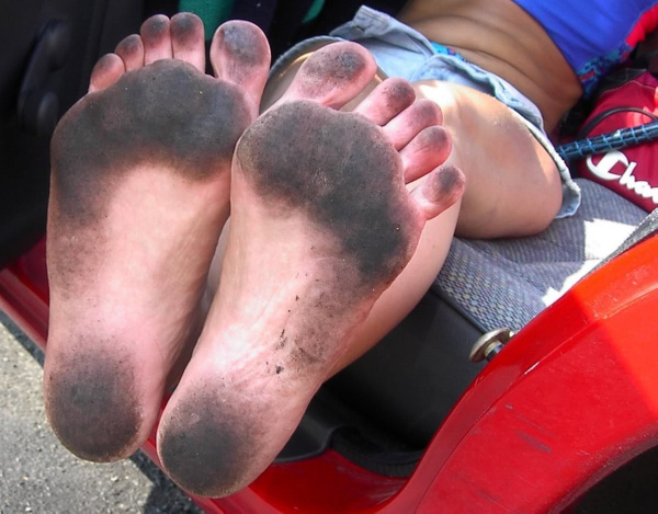 Donna Maria Dirty Feet Set # 6 by DonnaMaria