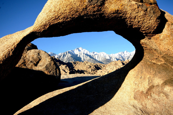 Lone Pine Peak, Mt. Whitney in the Eye of the Mobius...