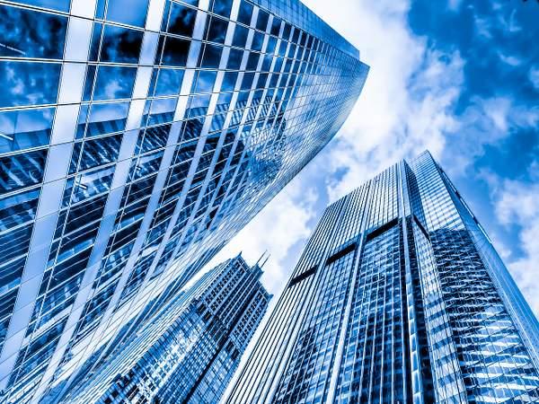 Monroe Street Skyscrapers