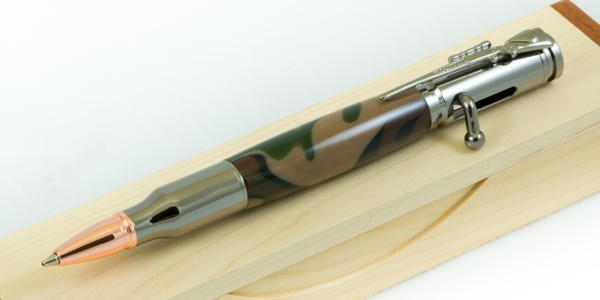 James Camo Bolt Action Pen 2017 (7 of 8) by JamesALee