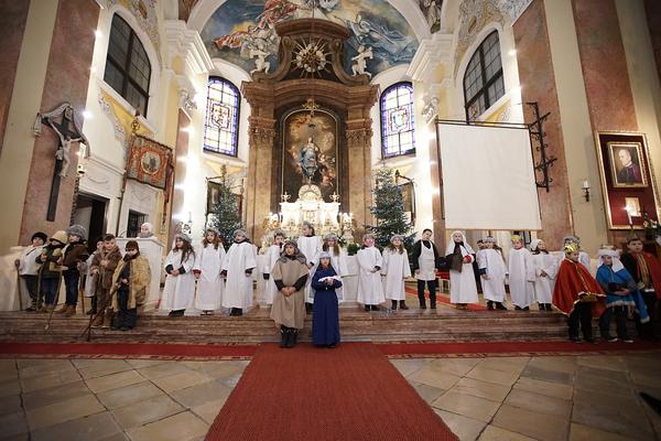 Pásztorjáték a Nádi Boldogasszony templomban -...