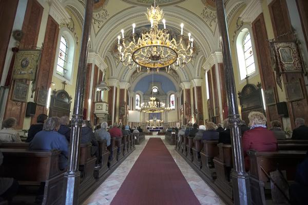 Szent József templom búcsú by Gyulai Plébánia