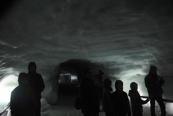 Langjokull Glacier by Maria Dzeshchanka