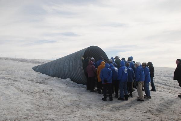 Entrance to the glacier :) by Maria Dzeshchanka