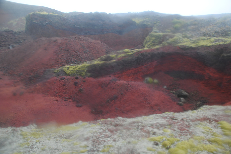 Colors of the volcano
