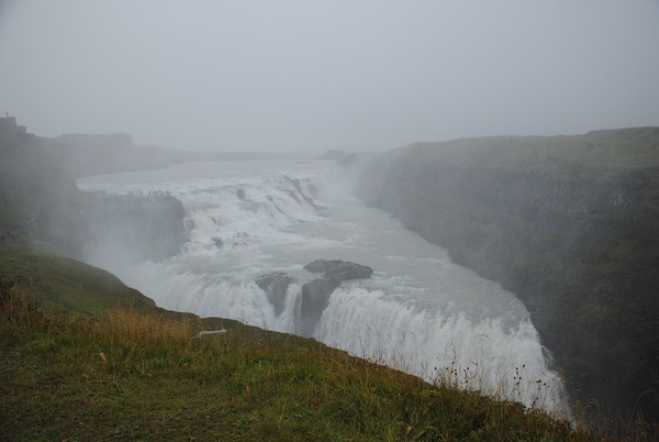 Gullfoss by Maria Dzeshchanka