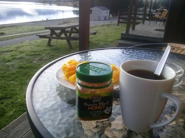 Good morning at Lake Tekapo :) by Maria Dzeshchanka