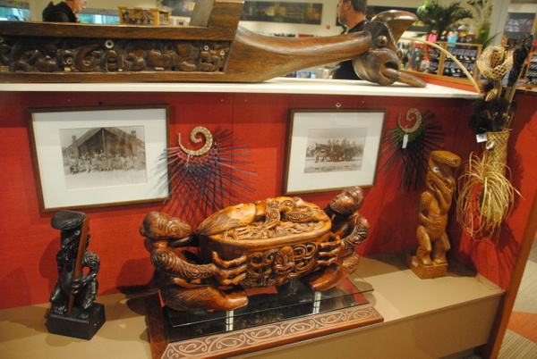 Te Puia souvenirs by Maria Dzeshchanka