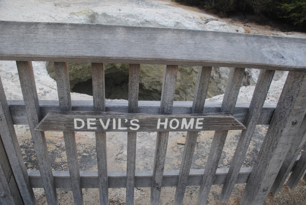 Devil's Home :) by Maria Dzeshchanka