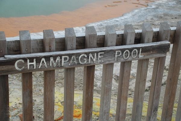 Champagne Pool by Maria Dzeshchanka