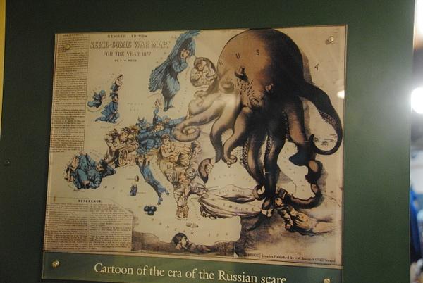 Dangerous Russia by Maria Dzeshchanka