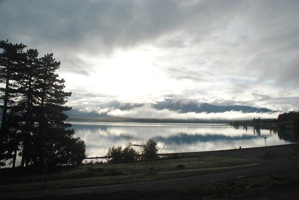 Lake Tekapo by Maria Dzeshchanka