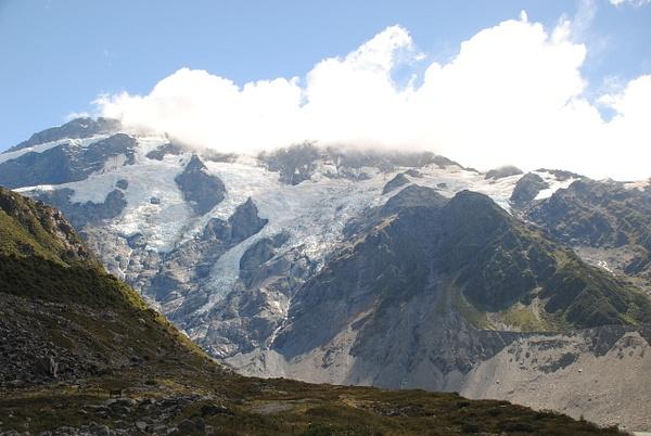 Mueller Glacier by Maria Dzeshchanka