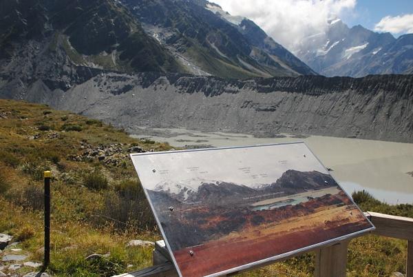 Near Mount Cook by Maria Dzeshchanka