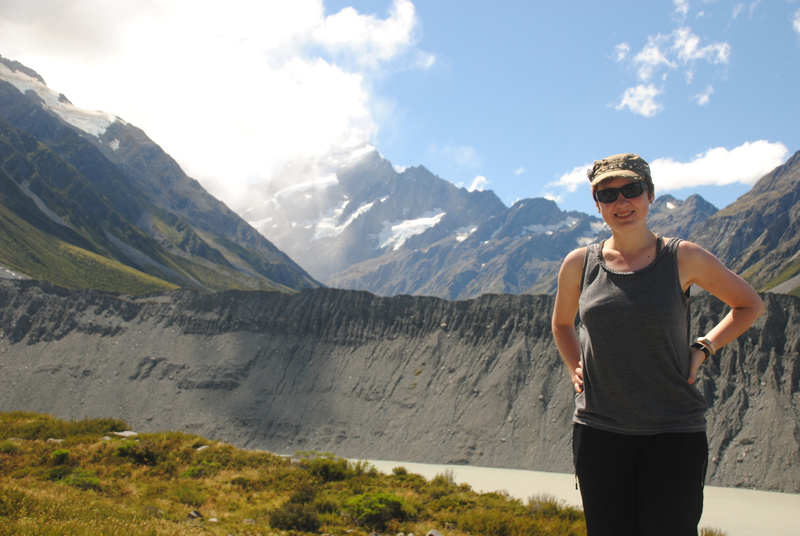 Proof pic with Mount Cook :)