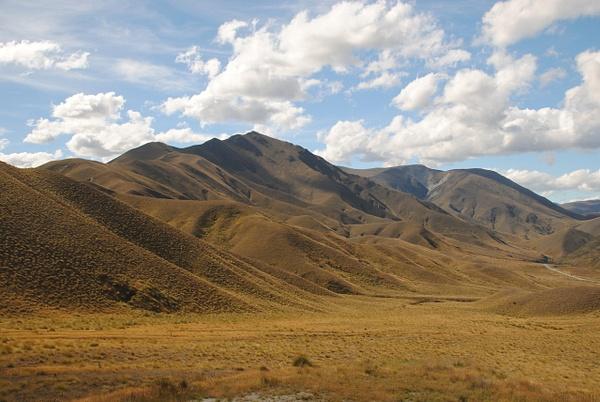 Some plush mountains :) by Maria Dzeshchanka