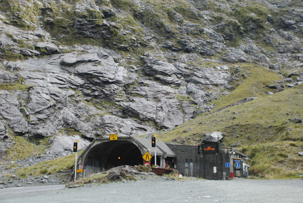 Homer Tunnel by Maria Dzeshchanka