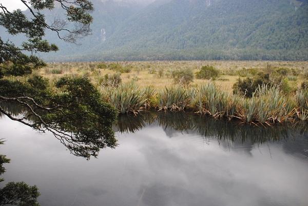 Mirror Lakes by Maria Dzeshchanka