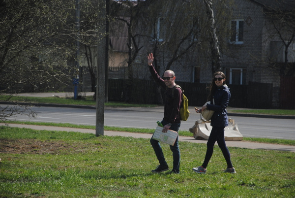 'Вынеси ёлку!', ул. Иркутская, 26 by Maria Dzeshchanka