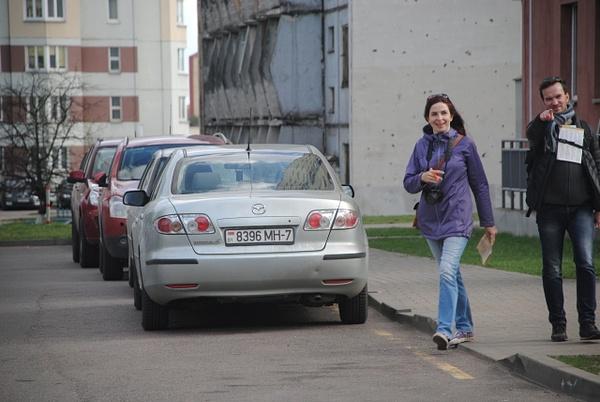 'Роторная жатка - не обмолот!', ул. Солтыса, 96 by Maria Dzeshchanka