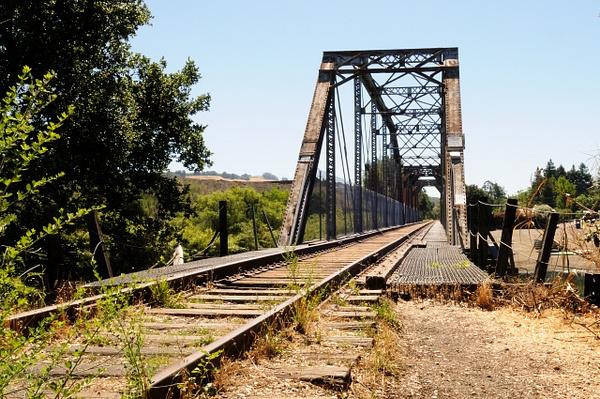 Healdsburg Train Bridge by StephenSarhad