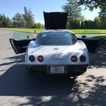 1975 Chevy Corvette 25k Miles Silver