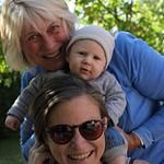 Reuben, Oma en Tante Sept 2017