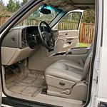 2006 suburban 2500 white