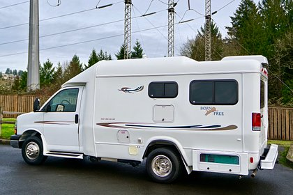 2003 Born Free Bed And Breakfast Model Class B Motorhome