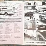 2001 Provan Tiger CX Model 4x4 19' Class C Motorhome
