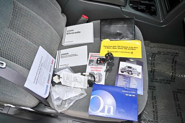 2005 Chevrolet Silverado LS 1500 Crew Cab 4-Door Z71 Off...