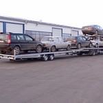 Járműszállító 1-2 autós