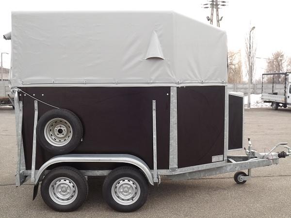 Lószállító, fogathajtó kocsi szállító by HevesPonyvaKft