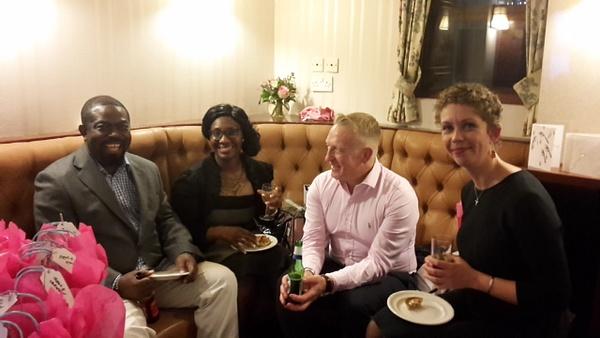 Joe, Dinah, Stephen & Liza by JulieRoss
