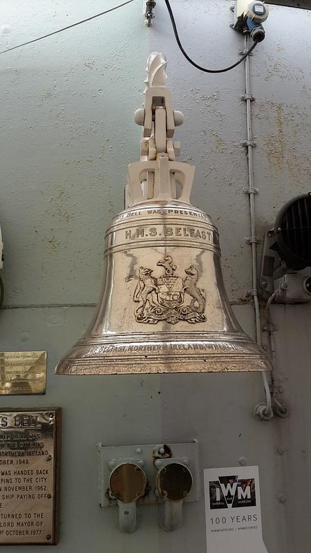 HMS Belfast Bell!