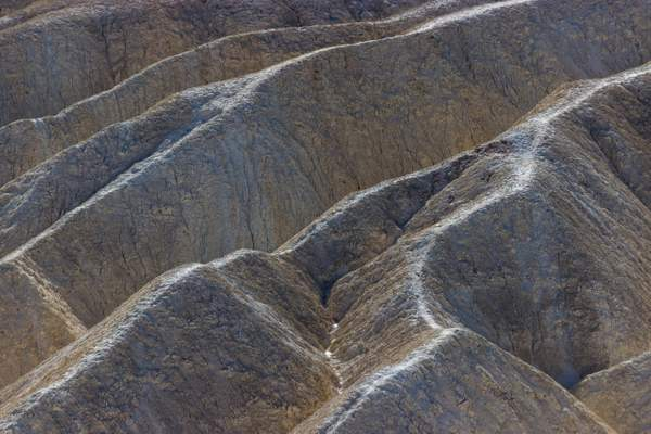 Jackpot Canyon Badlands Near Panamint Valley