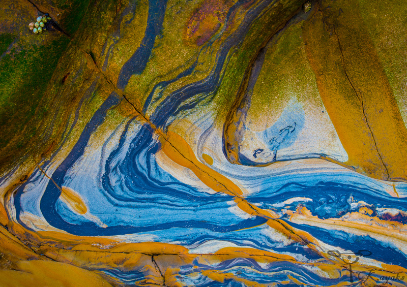 Flowing Rocks of Bean Hollow Beach