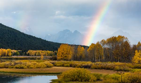Double Rainbow at Oxbow