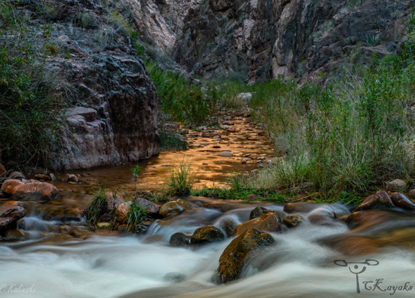 Phantom Creek at Bright Angel, Grand Canyon NP by Cass...