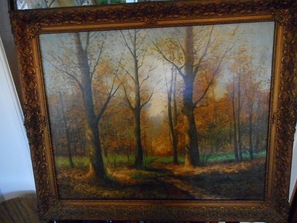 Paulette's Forest Scene by CarolynAlvarado