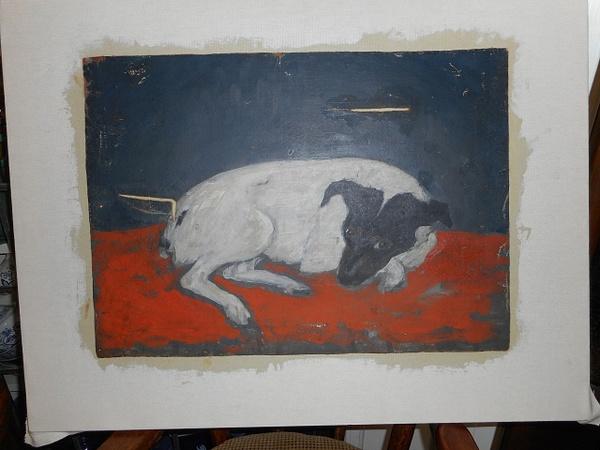 Katrina's Dog by CarolynAlvarado